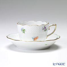 Herend millefleur MF 00711 - 0 - 00 / 711 Mocha Cup & saucer 100 cc