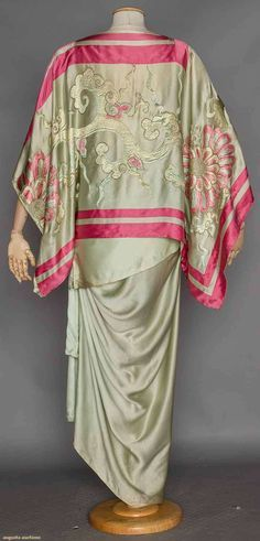 CALLOT SOEURS COUTURE ORIENTALIST GOWN, 1910-1914 - Google Search
