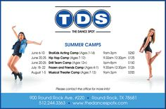 The Dance Spot - voted the Best of Round Rock 2016. Check out their summer camps!