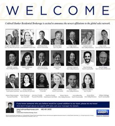 We're proud to welcome this outstanding group of Real Estate professionals who associated with Coldwell Banker Residential Brokerage Arizona in the month of March! #ColdwellBankerArizona