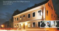 Wirtshaus Friedrich in Geiseldorf. Absoluter Geheimtipp, steirische Wirtshauskultur pur! Style At Home, Friedrich, Places To Go, Mansions, House Styles, Home Decor, Decoration Home, Manor Houses, Room Decor