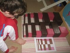 """Making Montessori Ours"": The Broad or Brown Stair, Pink Tower & Extension work"