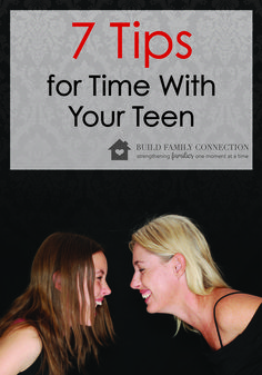 "Figuring out how to connect with teens in a meaningful way can take some experimenting.    As a mom, I often ask, ""Are my kids getting it?  Do they feel my love for them?  Am I communicating how much they matter to me?""  Communicating love in a way that l"