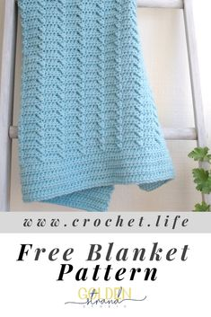 36 Super Ideas for crochet blanket diy free pattern Crochet Blanket Tutorial, Crochet For Beginners Blanket, Afghan Crochet Patterns, Baby Blanket Crochet, Crochet Baby, Knitting Patterns, Diy Crochet, Crochet Ideas, Crochet Blankets