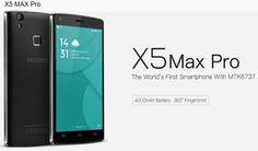 Doogee X5 Max Pro es un smartphone de gama media a un precio espectacular. Con Android 6.0, lector de huellas, batería de 4000 mAh y…