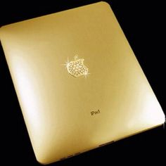 Gold ipad..... I need that for my iPad #diva