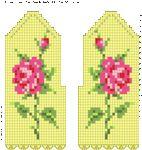 Мобильный LiveInternet Очень красивые варежки крючком с розами   Марриэтта - Вдохновлялочка Марриэтты  