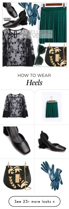 """""""Make a Statement: Embellished Sleeves"""" by teoecar on Polyvore featuring Chloé, Danier, yoins, yoinscollection and loveyoins"""