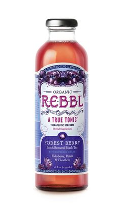REBBL herbal #tonic #packaging by Moxie Sozo