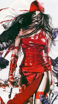 Elektra - Marvel Comics - Daredevil character - The Hand