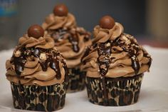 My story in recipes: Mocha Crunch Cupcakes