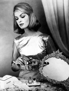 Nena Von Schlebrugge for Chanel, 1950's.