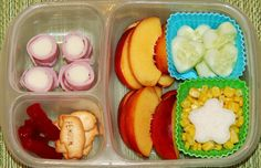 Colorful and delicious #bento, #lunch, #lunchbox #EasyLunchboxes