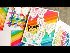 Rainbow Scrap Backgrounds - Jennifer McGuire Ink