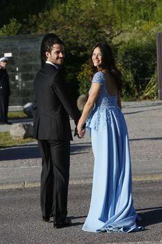 Prince Carl Philip and Sofia Hellqvist- Pre Wedding Dinner 6/12/15