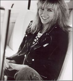 Debbie Gibson from the 80's..still covet the jacket to this day!(RB)