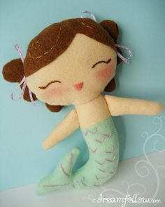little mermaid by merwing✿little dear, via Flickr