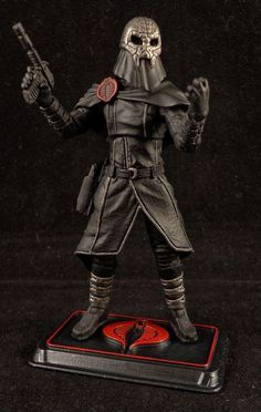 GI Joe Cobra Commander custom figure by Stronox Customs