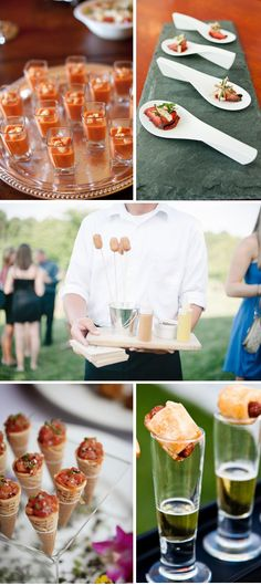 Clockwise from top, left: Photo courtesy of Rochelle Myers Catering; photo courtesy of Pure Kitchen Catering; photo courtesy of The Barbeque Exchange; photo courtesy of Milan Catering & Event Design; catering by Lola's Cafe and Catering, photo by Uplift Photography When sketching out your wedding budget, you can expect to spend about half on your …