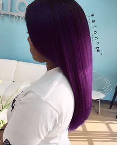 Beautiful color via @hautehairbylauren Read the article here - http://www.blackhairinformation.com/hairstyle-gallery/beautiful-color-via-hautehairbylauren/