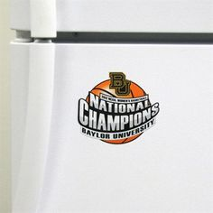 Baylor Lady Bears 2012 NCAA Women's Basketball National Champions Die-Cut Magnet $4.99