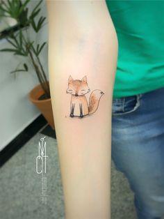 Tatuadoras Brasileiras: Conheça as artistas que se destacam na cena da tatuagem nacional (Parte 3) Tattoo Artwork, Print Tattoos, Blog, Color Tattoo, Tattoos, Tatoo, Fox, Animals, Artists