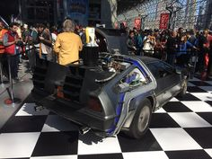 #backtothefuture at #nycc #nycc2015 #scifi #outtatime #backtothefutureii