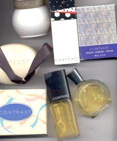 Avon CONTRAST cologne, Soap, Skin softener  (Lot # 4)