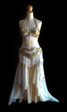 ISO white costume
