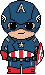 Avengers: Captain America PDF Pattern by Shylah Addante