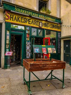 Shakespeare and Company, one of the must-see historical sites in Paris, France. Shakespeare And Company Paris, Paris Must See, Paris Bucket List, Paris Travel Guide, Gap Year, Adventure Is Out There, France Travel, Historical Sites, Wander