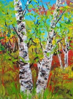 This is a quick painting that can be done in a half-hour. Watch the video and paint along with me! Grab your acrylics, brushes, a canvas and a palette knife and give it a whirl! I hope you e...