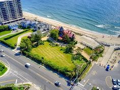 35 Ocean Ave, Monmouth Beach, NJ 07750 | MLS #22130740 | Zillow Monmouth Beach, Ocean Front Property, Buses And Trains, Historic Architecture, Once In A Lifetime, The Hamptons, Acre, Dreaming Of You, Sunrise