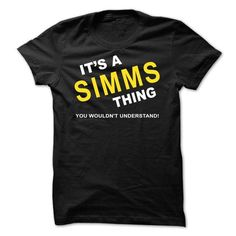 Its A Simms Thing - #sweater jacket #moda sweater. LOWEST PRICE => https://www.sunfrog.com/Names/Its-A-Simms-Thing-rrnta.html?68278