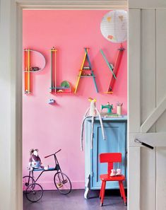 eclectic kid rooms