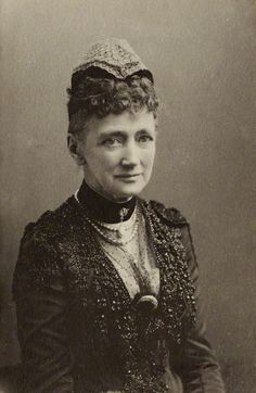 Queen Louise of Denmark, mother to Queen Alexandra of Great Britain and Empress Marie Feodorovna, Tsarista of Russia...