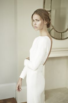 simple lovely gown by Charlotte Simpson