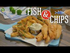 ¿Cómo preparar Fish & Chips?  YouTube | El Fish & Chips es un platillo clásico de la comida rápida de Reino Unido, consiste en filetes de pescado rebozados acompañados con papas fritas.   #CocinaFresca es presentada por Walmart ¡Suscríbete!