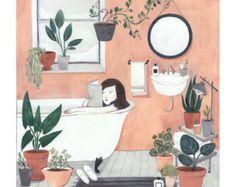 Spring Hallway by KelseyGarrityRiley on Etsy