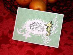 Kika's Designs : Birthday Seahorse