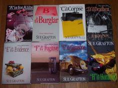 Sue Grafton Alphabet Series