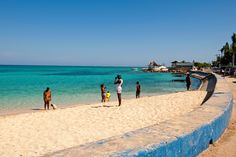 Gloucester Beach in Montego Bay. Click through to read Jamaica, Beyond The Beach as featured in the New York Times.    Photo by Robert Rausch for The New York Times.