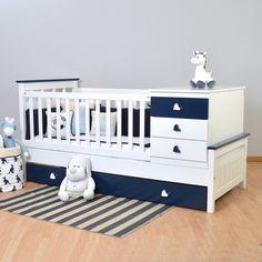 Cuna Funcional Laqueada directo de fabrica. Precios On Line! Diy Toddler Bed, Baby Crib Diy, Best Baby Cribs, Baby Crib Designs, Baby Room Design, Baby Nursery Themes, Baby Room Decor, Baby Bedroom, Baby Boy Rooms