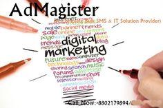 Admagister is a complete IT Solution provider and Bulk sms Provider.Admagister do all promotion activity by bulk sms,bulk email and digital marketing by using bulk sms delhi. www.bulksmsdelhincr.com