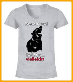 Mein Hund beisst vielleicht - Hunde shirts (*Partner-Link)