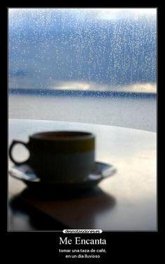 carteles cafe lluvia tomar taza desmotivaciones