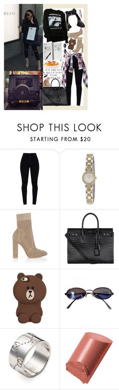 """""""December 26, 2017"""" by alicia-rene ❤ liked on Polyvore featuring Kate Spade, Gianvito Rossi, Yves Saint Laurent, Fendi, Gucci, Bobbi Brown Cosmetics, Revlon and ULTA"""