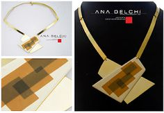 Ana Belchí - cool effect achieved by layering thin slices