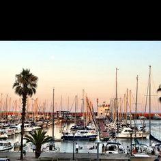 Port Olympic, Barcelona, Spain
