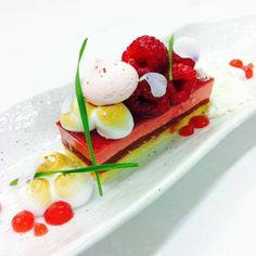 Anneke Verhagen - Raspberry, rurbarb, Italian merengue, white chocolate cream